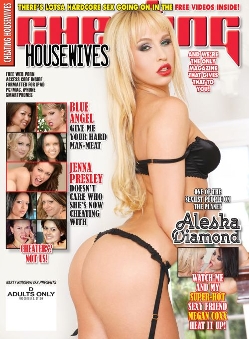Cheating Housewives #99 featuring Alexa Diamond & more salacious, cheating girls in full pictorials with XXX free videos