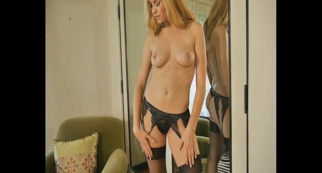 Cheri #290 featuring Bailey Rayne. Sexy seductive blonde lingerie natural beauty porn video - amateur hardcore pornstar