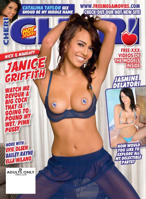 Cheri #290 magazine featuring Janice Griffith & more horny pornstars -Amateur hardcore pornstar