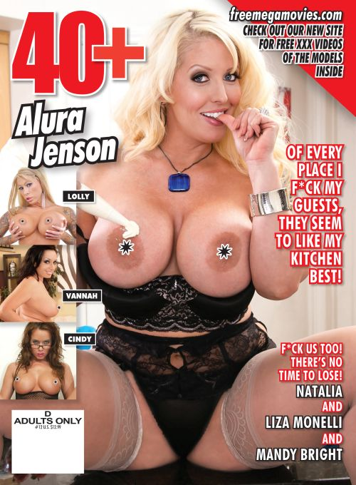 40+ #12 featuring MILF Alura Jenson on the cover