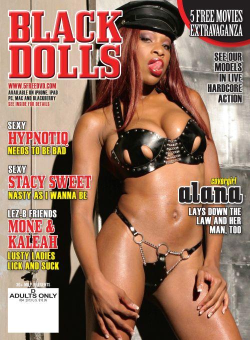Black Dolls #64 features stunning black babes in XXX action