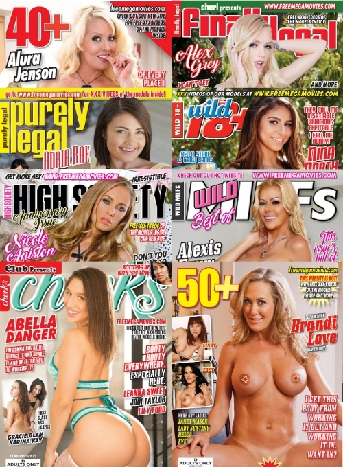 September 2020 new adult magazines with hardcore videos