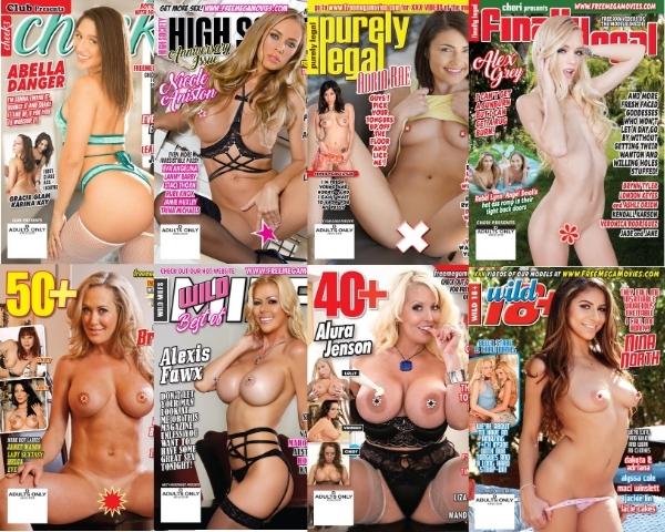 September 2020 new porn magazines & XXX videos