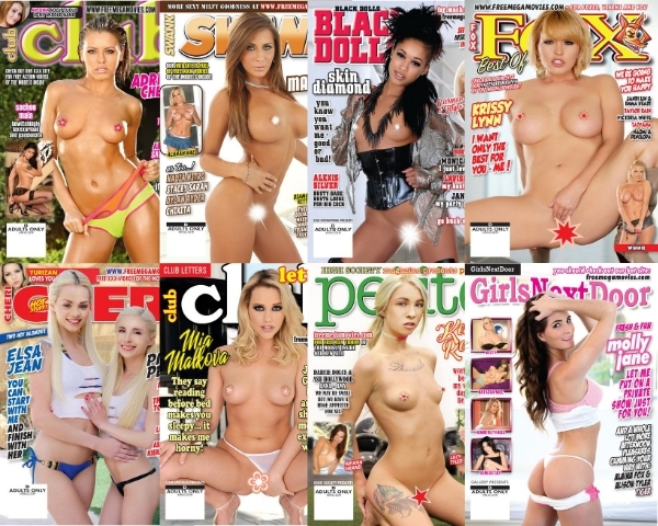 October 2020 issues are here! Club #293, Cheri #293, Petite #294, Fox #251, Swank #241, Girls Next Door #236, Black Dolls #247, Club Letters #395 digital magazines with hardcore videos!