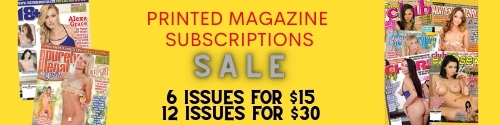 Hardcore printed magazines on-sale!
