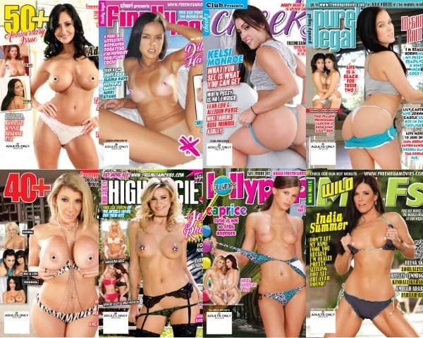 Winter 2020 XXX magazines and XXX videos