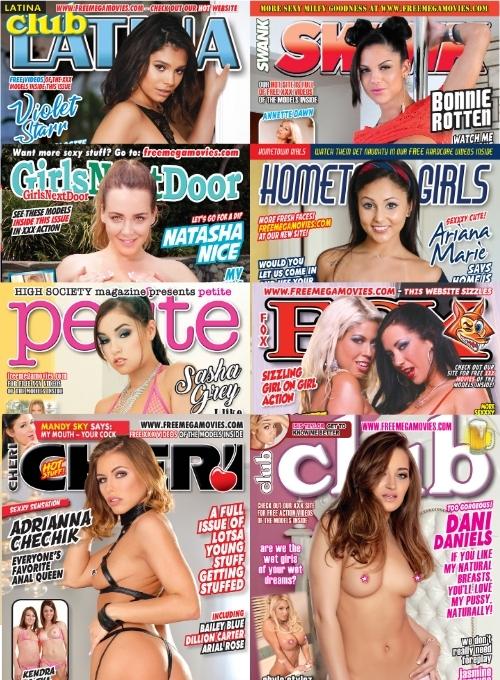 January 2021 XXX magazines and XXX videos