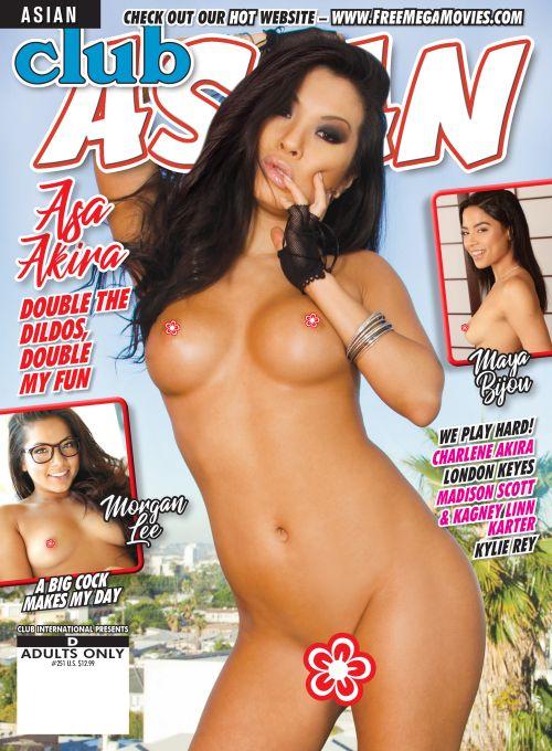 Club Asian #251 features Asa Akira & more horny asian babes