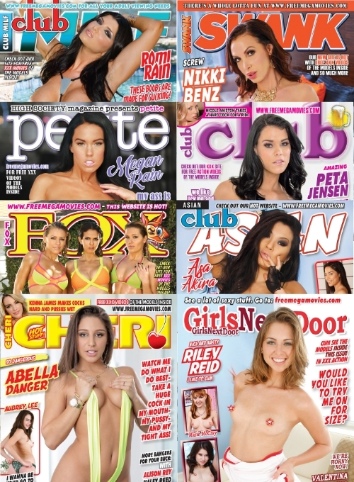 May 2021 bundle pack, 8 hardcore magazines with tons of XXX videos