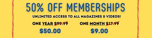 50% off all access memberships adult porn magazines & xxx videos