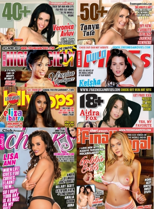 June 2021 bundle pack, 8 hardcore magazines with tons of XXX videos